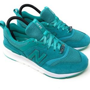New Balance 997H Mystic Crystal Shoes Green White
